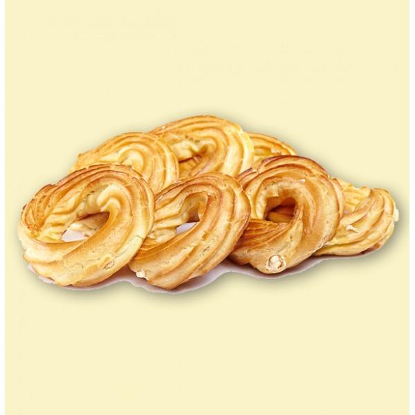 """Пирожное """"Кольцо заварное"""" с творожной начинкой"""