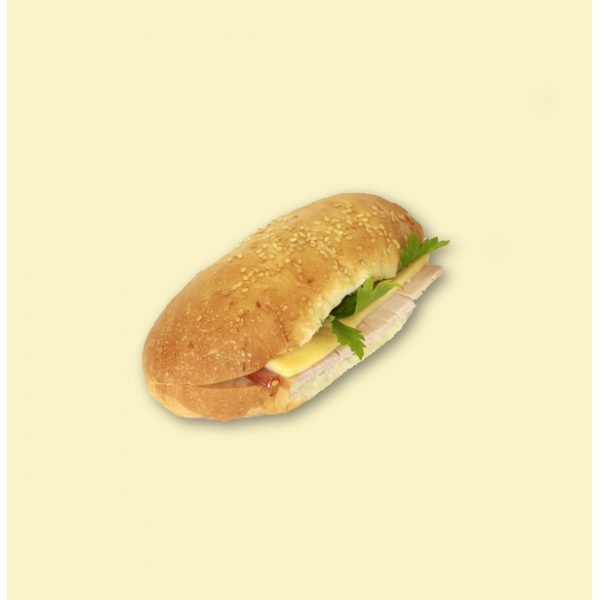 """Бутерброд """"Сэндвич"""" с грудинкой полупорционный"""