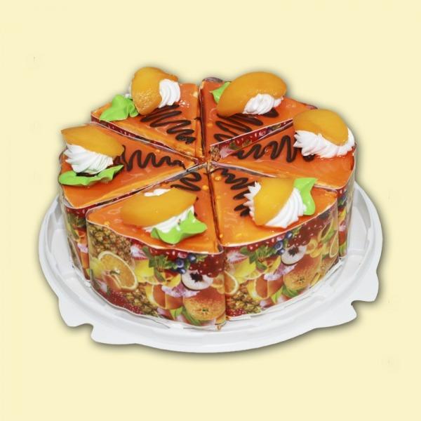 Торт йогуртовый «Персик» порционный