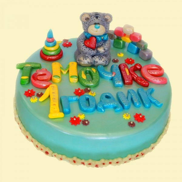 """Торт """"Любимая игрушка"""""""