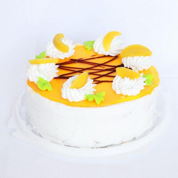 Торт «Персик» йогуртовый