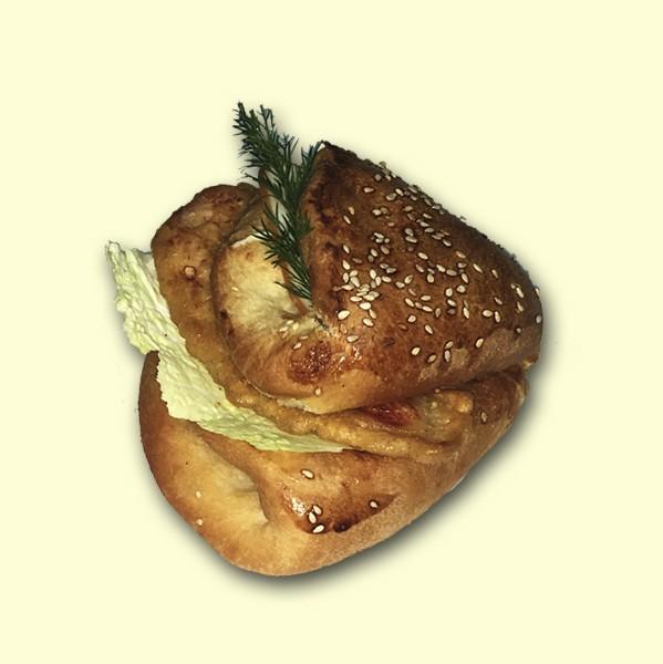 """Бутерброд """"Сытный"""" с куриной отбивной"""
